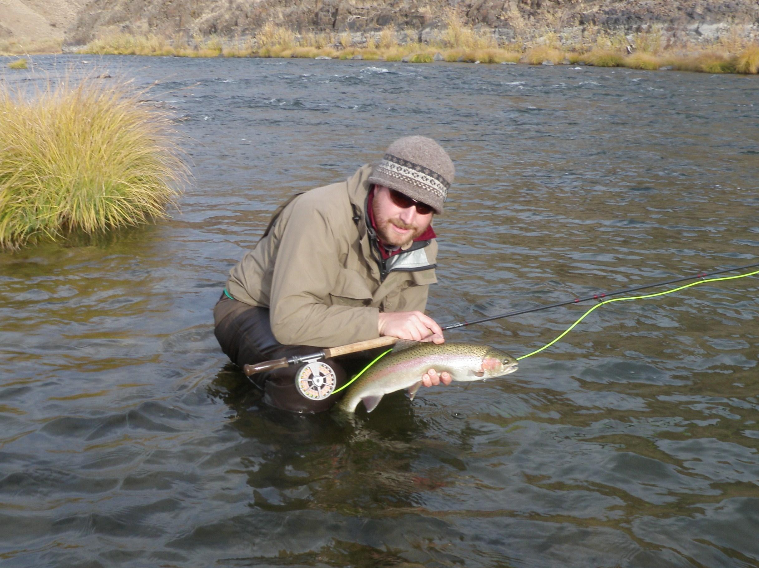 John day river spey rod steelhead the turb memoirs for Bobber fishing for steelhead